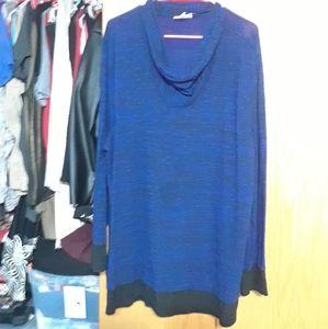 💜Cowl neck sweater
